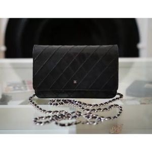 CHANEL Lambskin WOC Crossbody